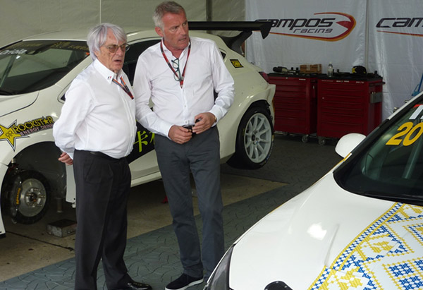Ecclestone's visit boosts enthusiasm in TCR paddock!