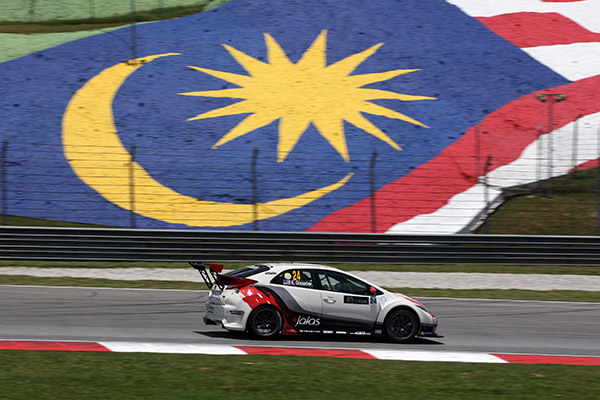 Gleason takes historical TCR pole for today's race