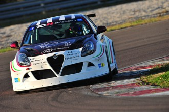 The Giulietta TCR begins testing in Cremona