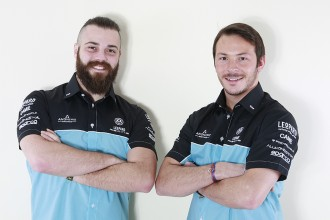 Comini and Vernay: a strong pair for Leopard Racing