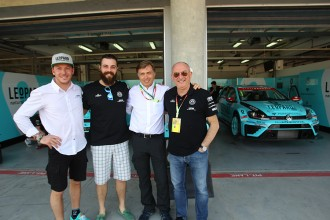 Jost Capito wishes 'good luck' to the VW Golf cars