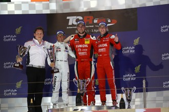 Quotes from the podium finishers in Bahrain Race 1