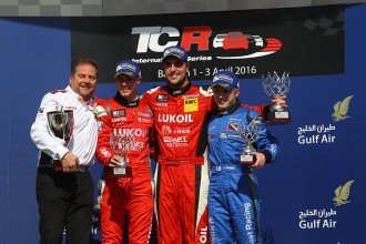Quotes from the podium finishers in Bahrain Race 2