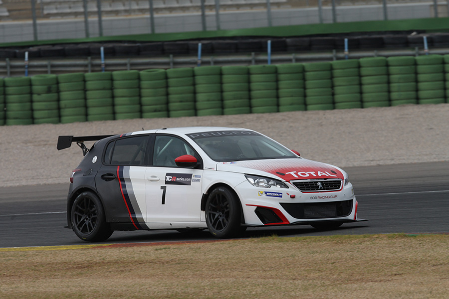Two Peugeot cars to race in the Spa event