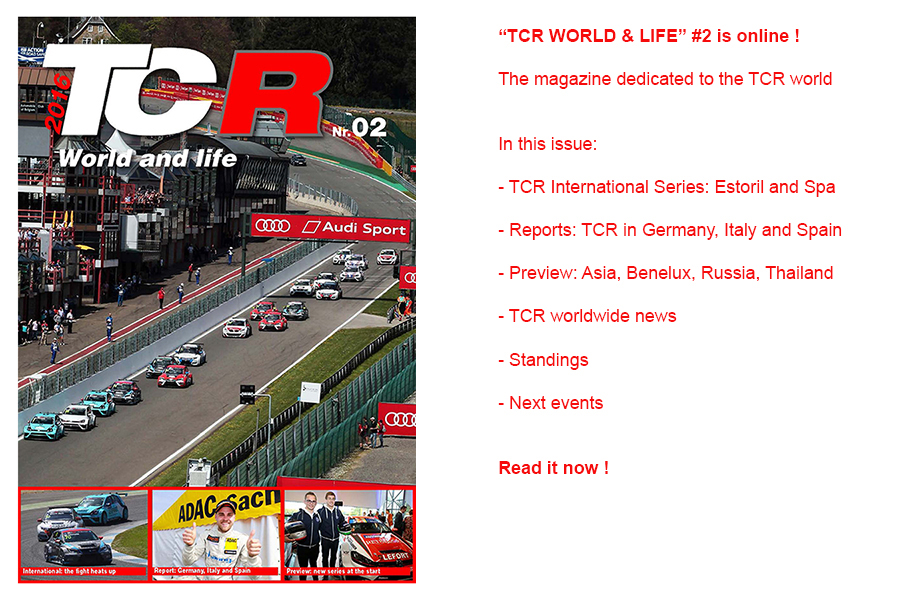 TCR World & life – the second issue is online !