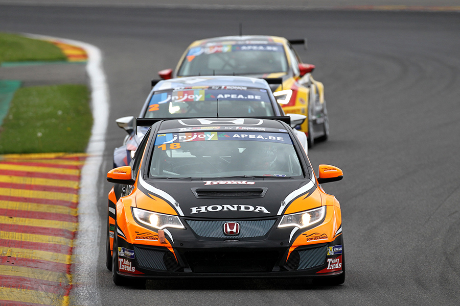 TCR Benelux: Boutsen Ginion Honda cars take all