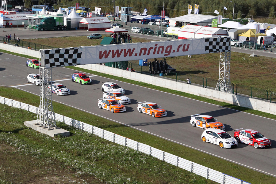 TCR Russia live from Nring on www.tcr-series.tv