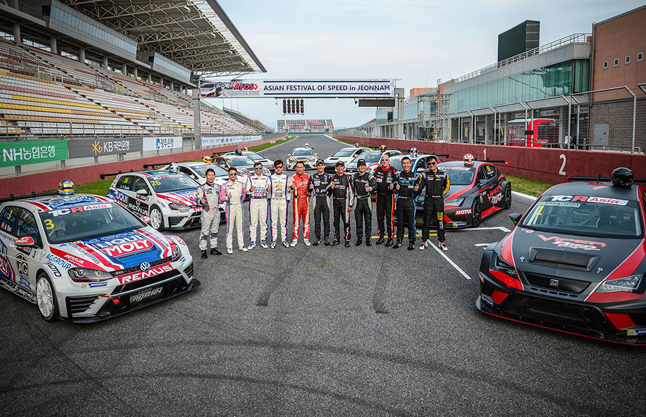 TCR weekend live from Thailand and Italy