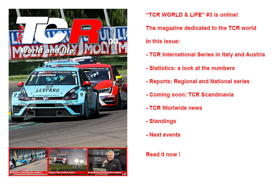 TCR World & life – the third issue is online !