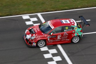 Cerruti deprived of Alfa's progress by a pedal issue
