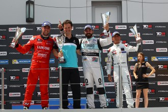 Quotes from the Race 1 podium finishers