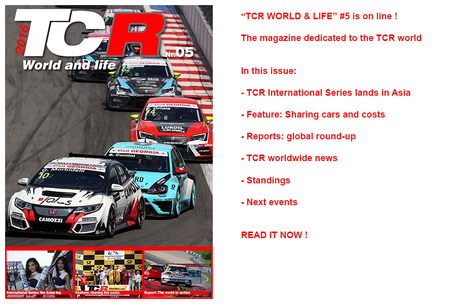 TCR World & life – the fifth issue is online !