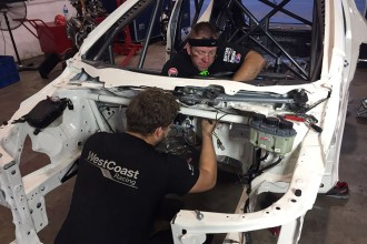 WestCoast hard at work to build Morbidelli's new Civic