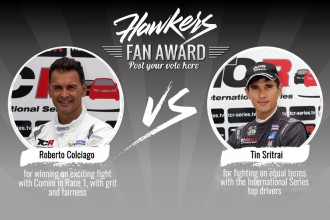 Hawkers Fan Award: guest drivers in the spotlight