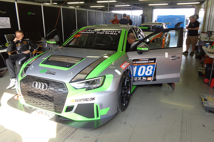 CadSpeed Racing is the first to run the Audi RS 3 LMS