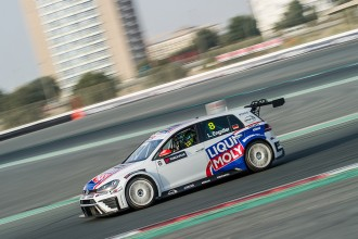 Luca Engstler claims first ever pole in TCR Middle East