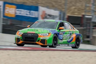 Bonk Motorsport's Audi wins the 12 Hours of Mugello