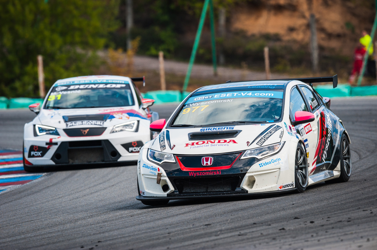 TCR Eastern Europe and ESET V4 Cup merge