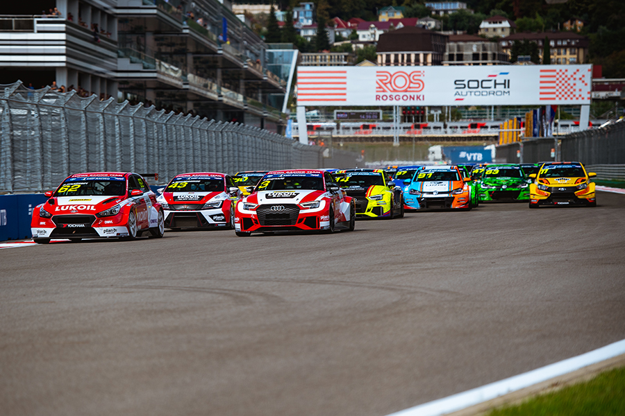 The 2020 TCR Russia calendar was unveiled