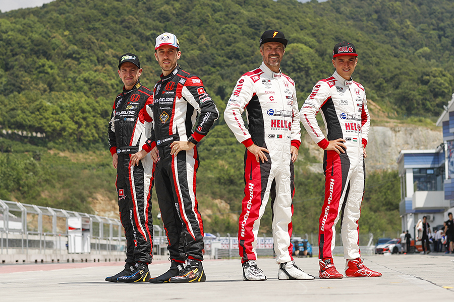 Honda Racing retains its four drivers for 2020 WTCR