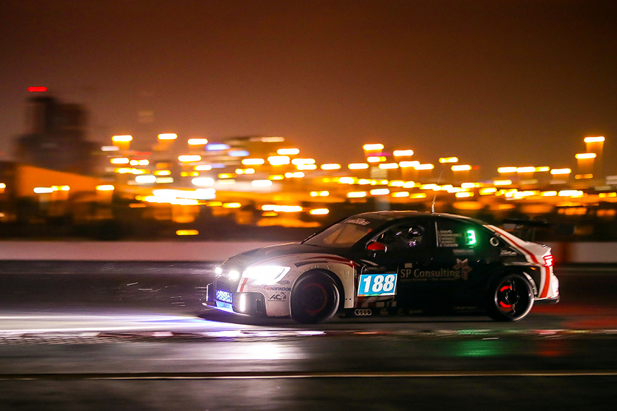 The 24H Dubai suspended after seven hours due to heavy rain