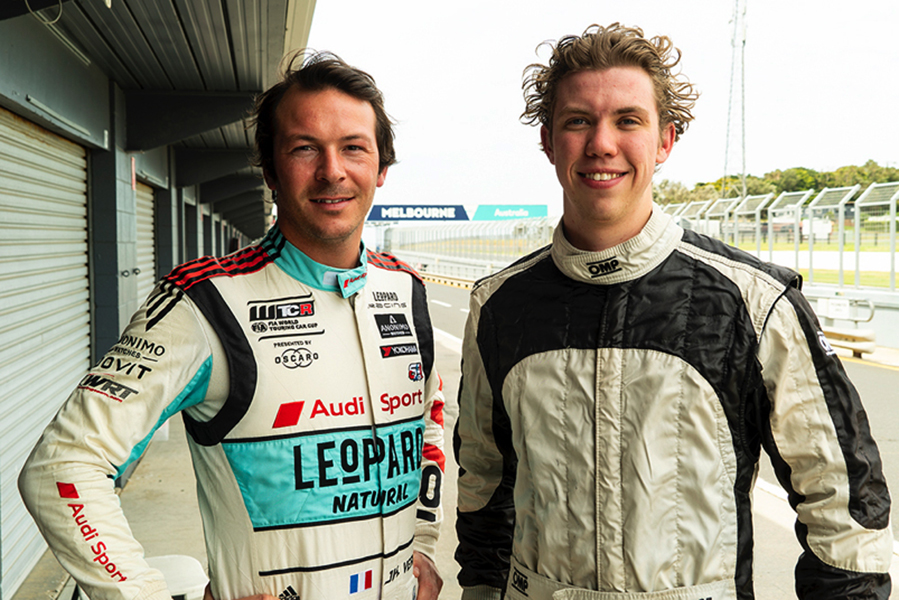 Vernay coaches McAdam in view of TCR Australia campaign