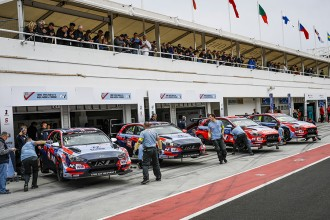 Four Hyundai cars in the 2020 WTCR campaign