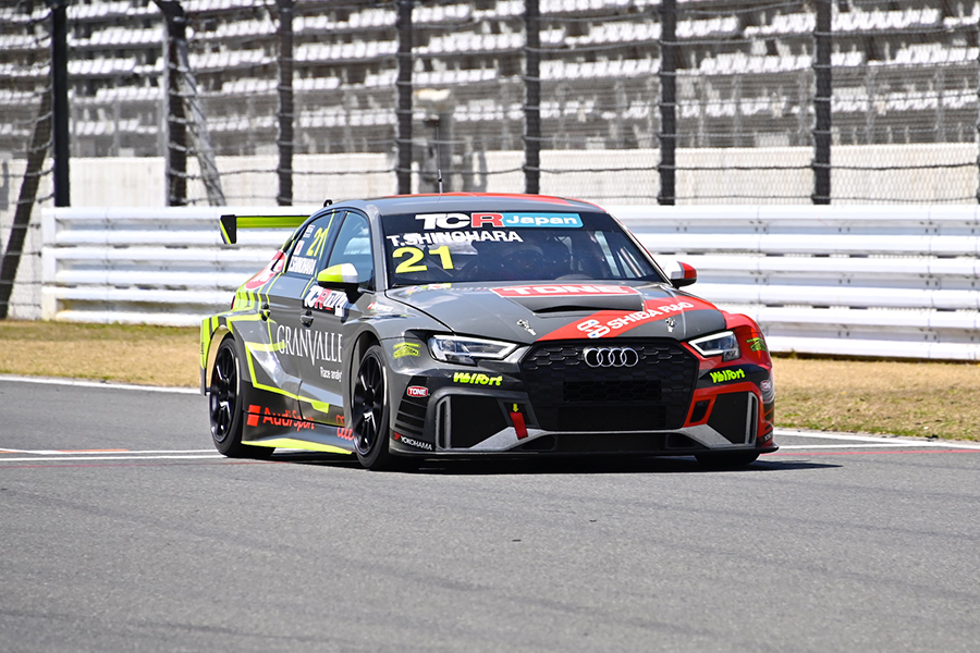 Shinohara's Audi fastest in TCR Japan test at Fuji