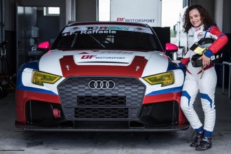 Francesca Raffaele in TCR Italy with BF Motorsport
