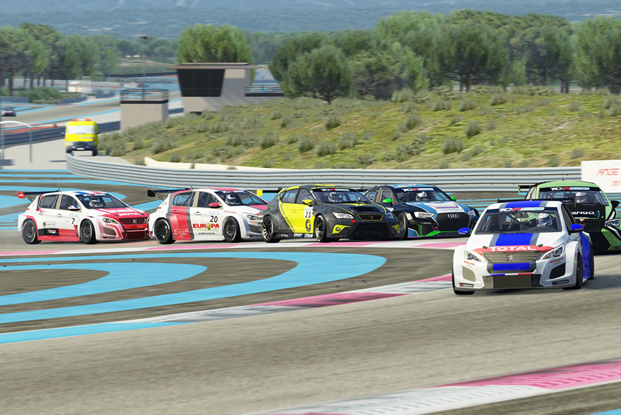 TCR Europe SIM Racing's calendar has been revised