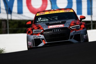 Pfaff Motorsports with an Audi car in the Canadian TCC