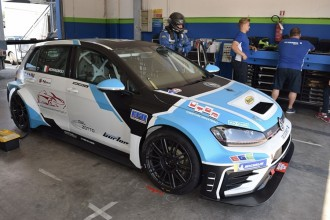 Riccardo Romagnoli with Proteam in TCR Italy