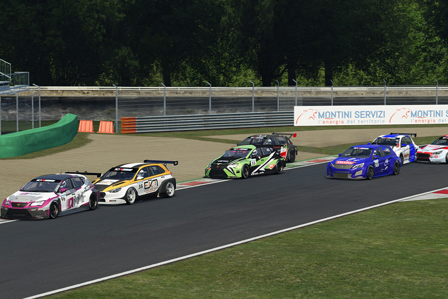 Jimmy Clairet and Al-Khelaifi inherited Monza SIM wins