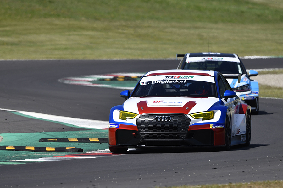 Eric Brigliadori inherits pole position for TCR Italy's opener