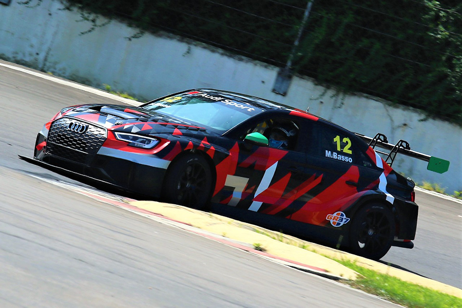 Marcio Basso completes first TCR South America test