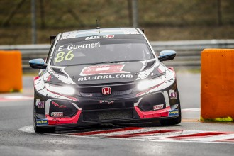 Guerrieri leads a quartet of Honda cars in WTCR Qualifying