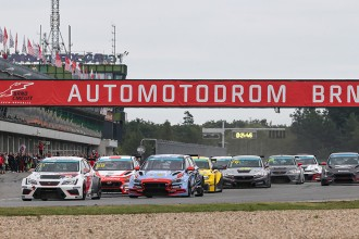 The TCR Eastern Europe finale is staged at the Hungaroring