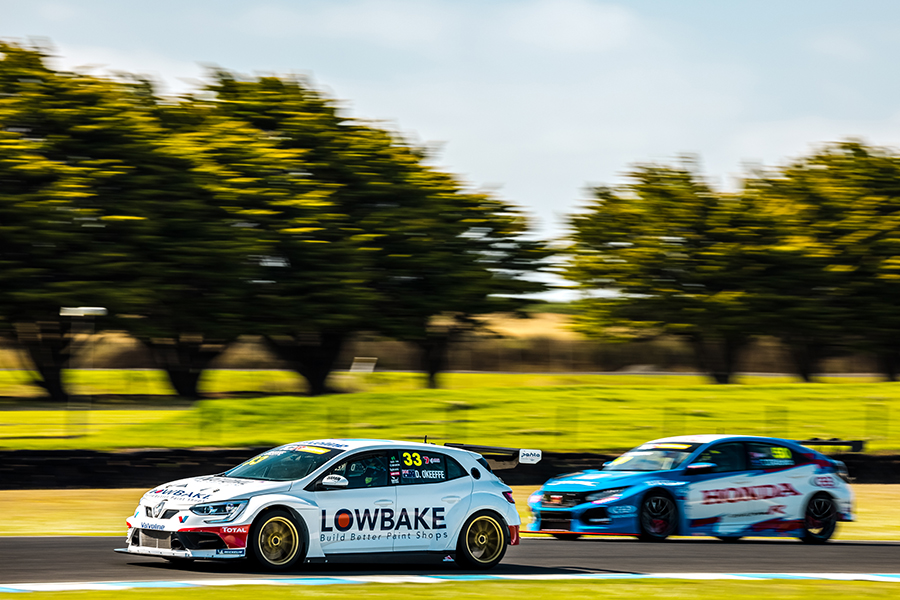 O'Keefe's Renault on top in TCR Australia test day