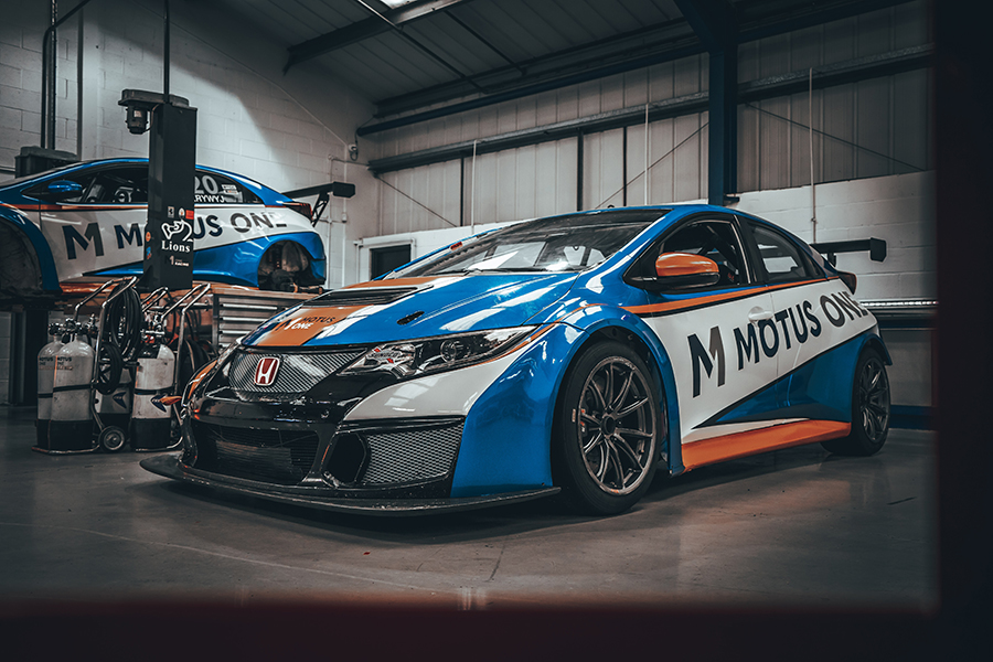 Motus One confirms three-car TCR UK campaign