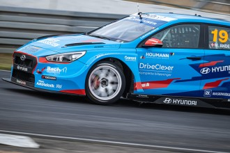 Andersen in ADAC TCR Germany with Hyundai Team Engstler