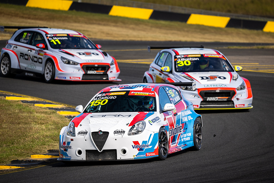A lightning start gives Caruso his first win in TCR Australia