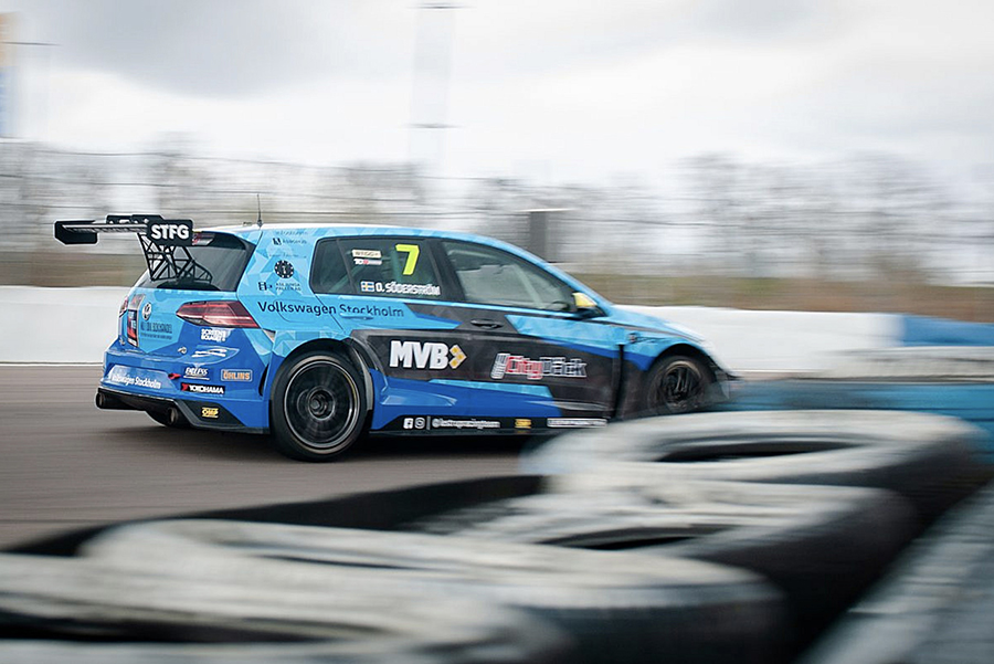 Ring Knutstorp hosted the official TCR Scandinavia test