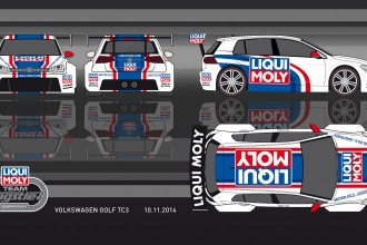 VW Golf cars for LIQUI MOLY Team Engstler